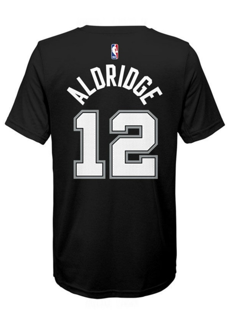 Nike Lamarcus Aldridge San Antonio Spurs Icon Name & Number T-Shirt, Big Boys