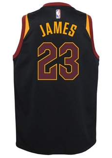 Nike Lebron James Cleveland Cavaliers Statement Swingman Jersey, Big Boys (8-20)