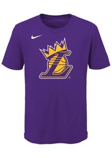 Nike Lebron James Los Angeles Lakers Kings Crown T-Shirt, Big Boys (8-20)