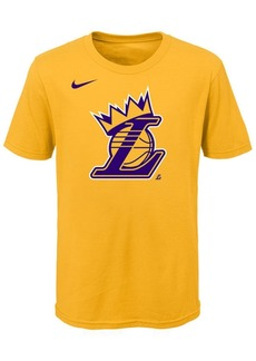 Nike Lebron James Los Angeles Lakers Kings Crown T-Shirt, Little Boys (4-7)