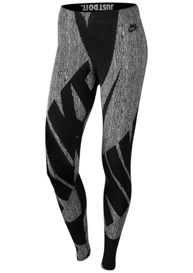 bf0dbdcc7fc Leg-a-See Glyph Printed Leggings