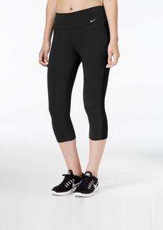 Nike Legend Dri-fit Cotton-Blend Capri Leggings