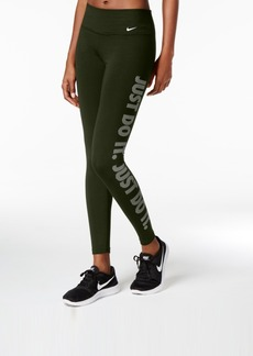 "Nike Legend Dry ""Just Do It"" Graphic Training Leggings"