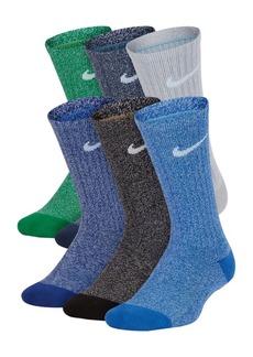 Nike Little Boys 6-Pk. Performance Cushioned Crew Training Socks