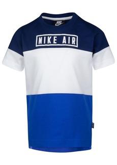 Nike Little Boys Air-Print Colorblocked Cotton T-Shirt