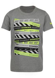 Nike Little Boys Awesomeness-Print Cotton T-Shirt