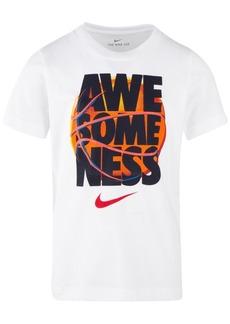 Nike Toddler Boys Awesomeness-Print Cotton T-Shirt