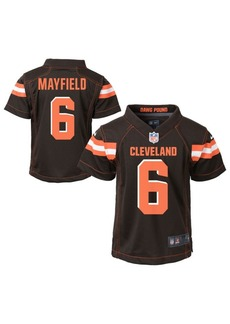 Nike Little Boys Baker Mayfield Cleveland Browns Game Jersey