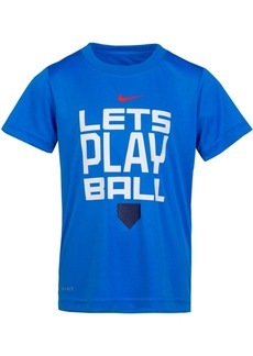 Nike Little Boys Ball-Print T-Shirt