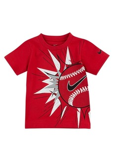 Nike Little Boy's Baseball Logo Cotton Tee
