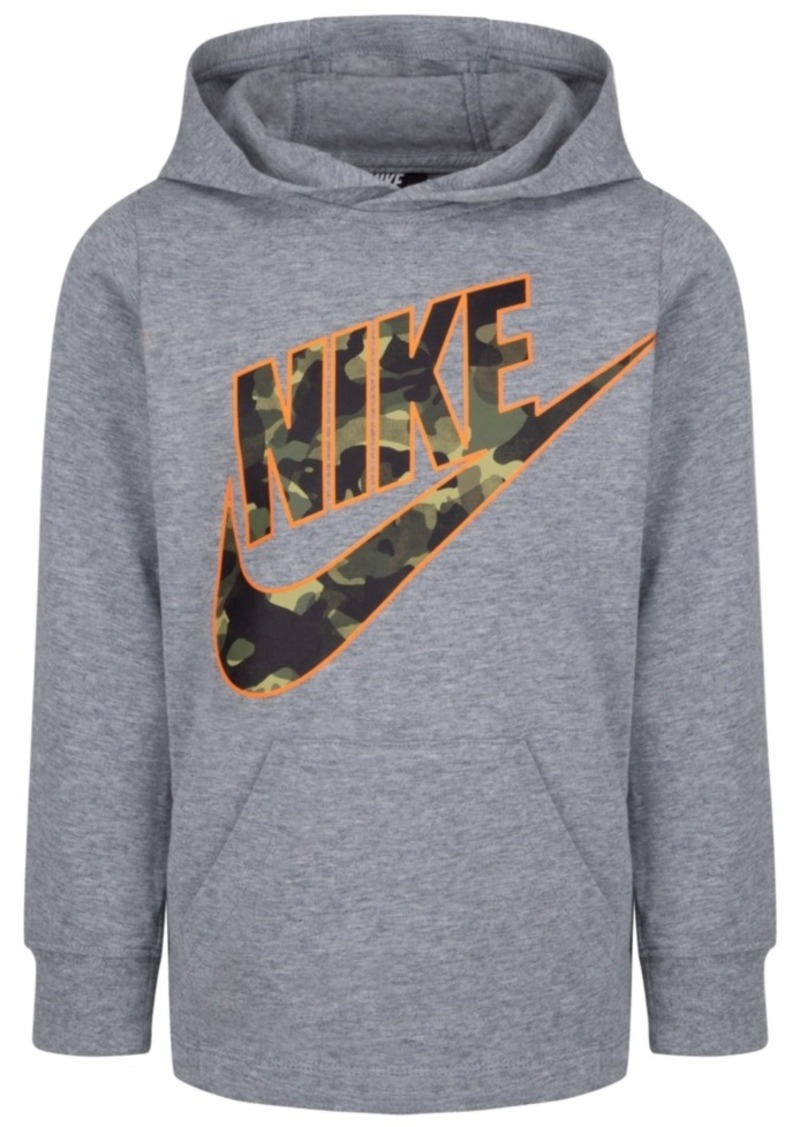 Nike Toddler Boys Camo-Logo Cotton Hoodie