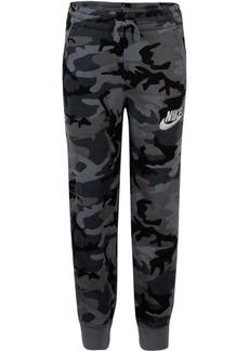 Nike Little Boys Camo-Print Fleece Jogger Pants