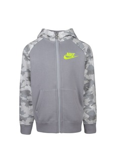 Nike Little Boys Camo Printed Fleece Hoodie