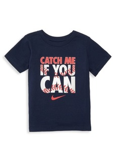 Nike Little Boy's Catch Me If You Can Graphic T-Shirt