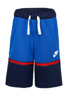 Nike Little Boys Colorblocked Just Do It Dri-fit Shorts