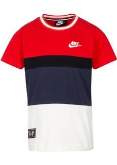 Nike Little Boys Colorblocked Logo-Print Cotton T-Shirt