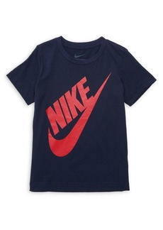 Nike Little Boy's Cotton Logo Graphic Tee