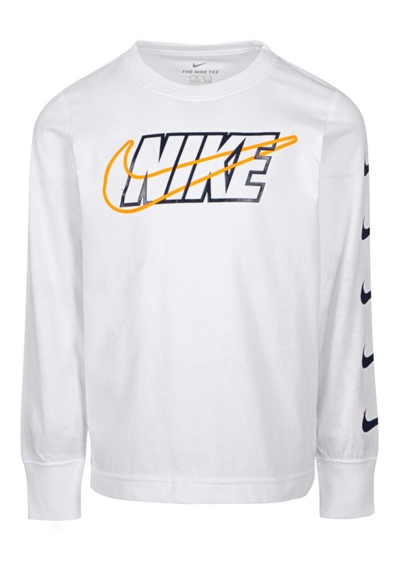 Nike Little Boys Cotton Logo T-Shirt