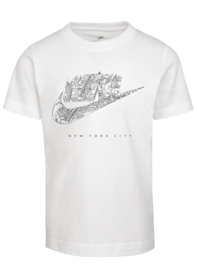 Nike Little Boys Cotton Nyc Logo T-Shirt