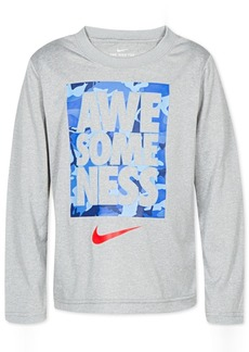 Nike Little Boys Dri-fit Awesomeness Graphic T-Shirt