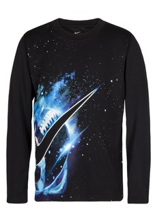 Nike Little Boys Dri-fit Cosmic Football Graphic T-Shirt