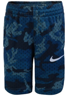 Nike Little Boys Dri-fit Elite Camo-Print Shorts