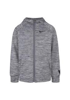 Nike Little Boys Dri-fit Fleece Full-Zip Hoodie