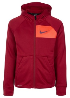 Nike Little Boys Dri-fit Full-Zip Hoodie