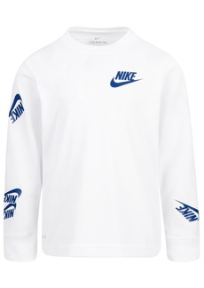 Nike Toddler Boys Dri-Fit Futura Stickers T-Shirt