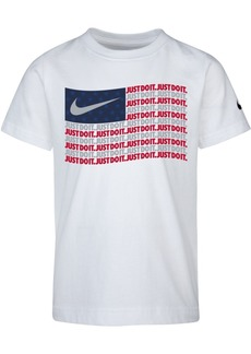 Nike Little Boys Flag-Print Cotton T-Shirt
