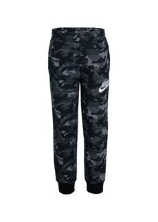 Nike Little Boys Camo Printed Fleece Pants