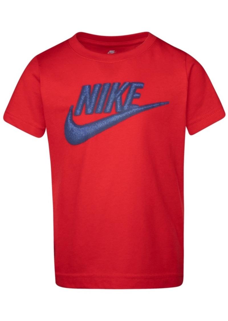 Nike Toddler Boys Futura-Print Cotton T-Shirt