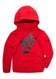 Nike Little Boys Futura-Print Fleece Hoodie