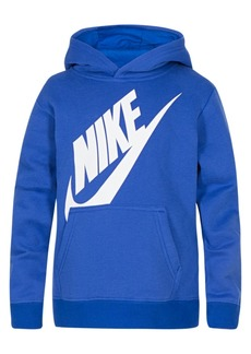 Nike Little Boys Futura-Print Fleece Hoodie