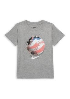 Nike Little Boy's Graphic Baseball Tee