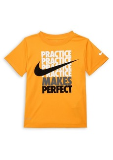 Nike Little Boy's Graphic Slogan Tee