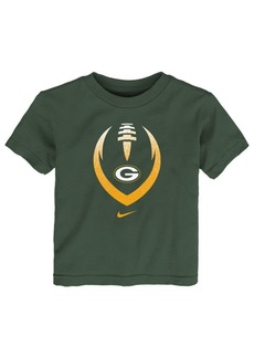 Nike Little Boys Green Bay Packers Football Icon T-Shirt