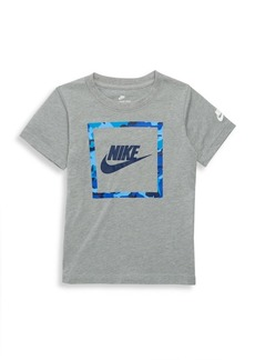 Nike Little Boy's Heathered Logo Tee