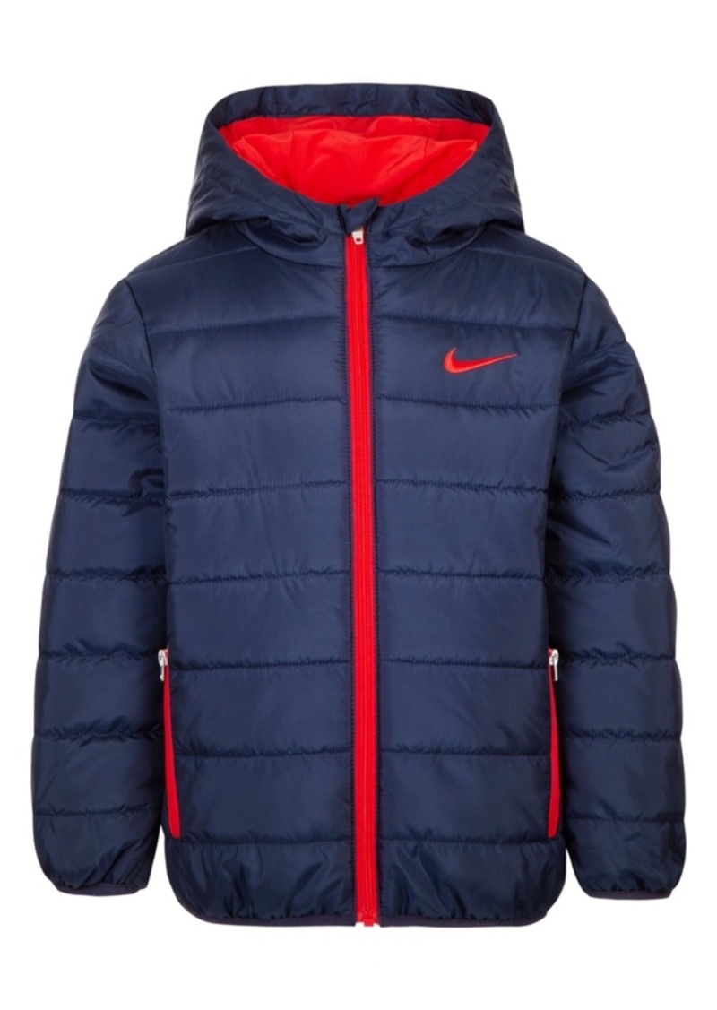 Nike Little Boys Hooded Puffer Jacket