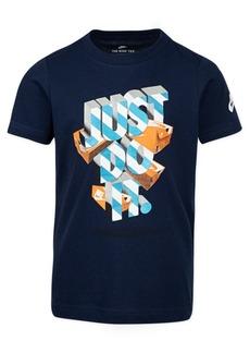 Nike Little Boys Just Do It-Print Cotton T-Shirt