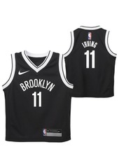 Nike Little Boys Kyrie Irving Brooklyn Nets Icon Replica Jersey