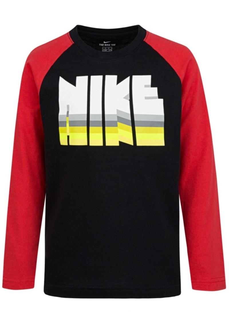 Nike Toddler Boys Logo-Print Cotton T-Shirt