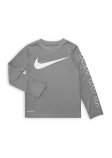 Nike Little Boy's Logo Tee