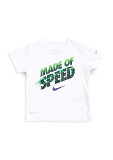 Nike Little Boy's Made of Speed Graphic Tee