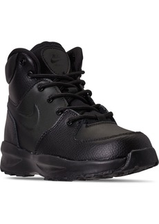 Nike Little Boys Manoa Leather Boots from Finish Line