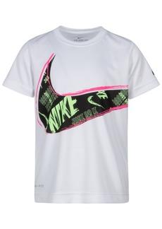 Nike Little Boys Muddy Swoosh Dri-fit T-Shirt