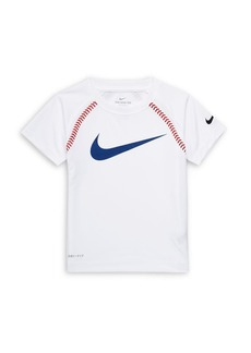 Nike Little Boy's Raglan Baseball Tee