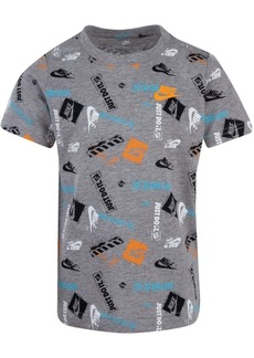 Nike Little Boys Stamp Logo T-Shirt