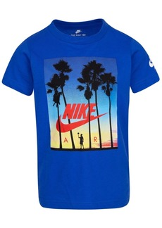 Nike Little Boys Sunset-Print Cotton T-Shirt