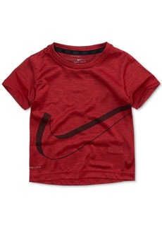Nike Little Boys Swoosh-Print T-Shirt